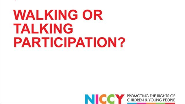 Image of Walking or Talking Participation