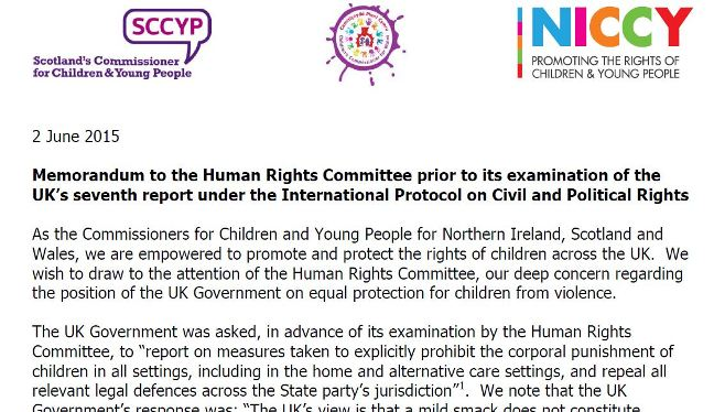 Image of Joint Statement to the Human Rights Committee