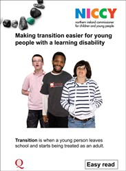 NICCY Transitions Report - Easy Read - cover.jpg