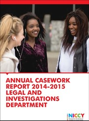 NICCY Annual Casework Report 2014-15 - cover.jpg