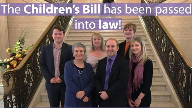 Image of Commissioner Delighted Children's Bill to Become Law