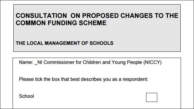 Image of Reforming the Common Funding Scheme Consultation