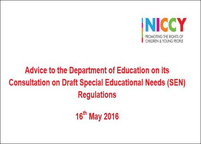 Image of DENI Special Education Needs Regulations
