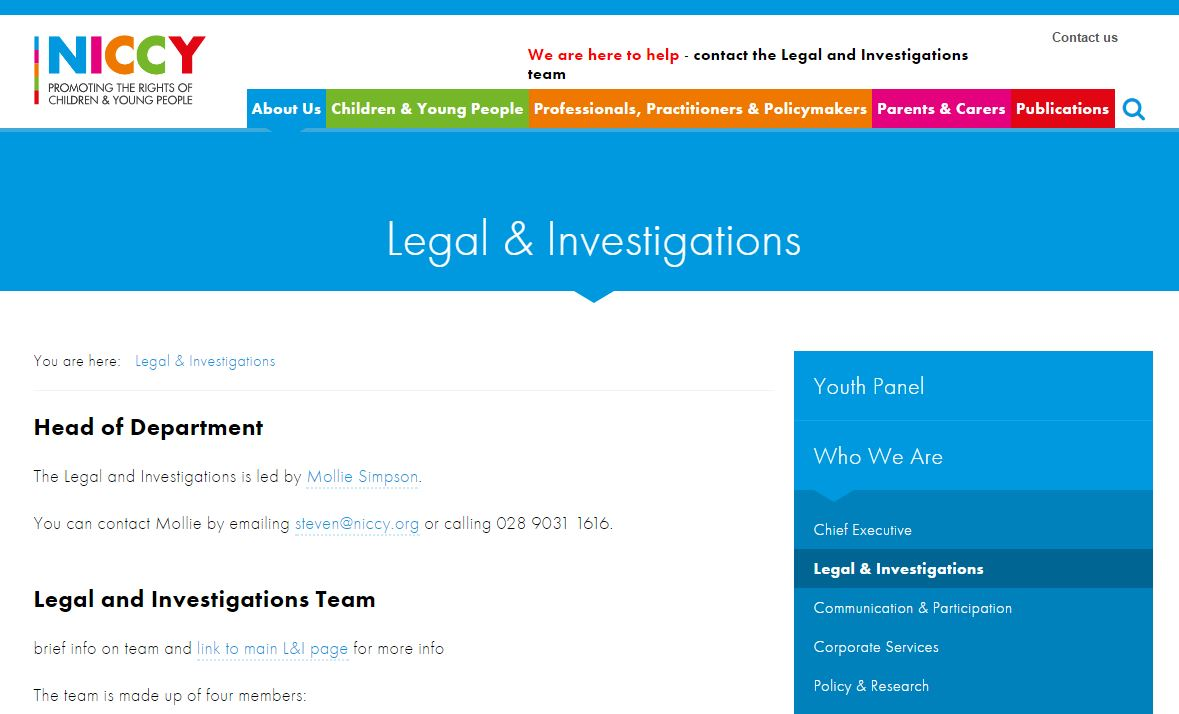 Photo for Legal & Investigations