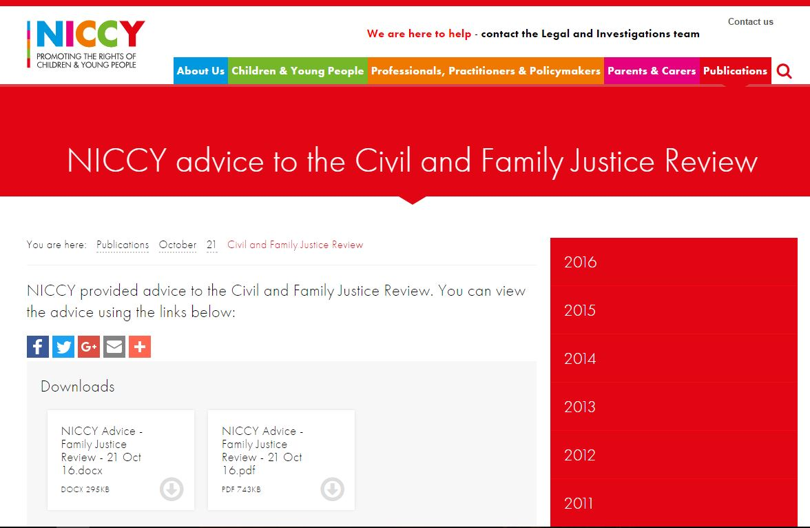 Image of Civil and Family Justice Review