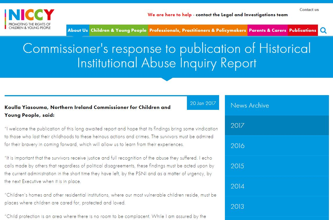 Image of Response to HIA Inquiry