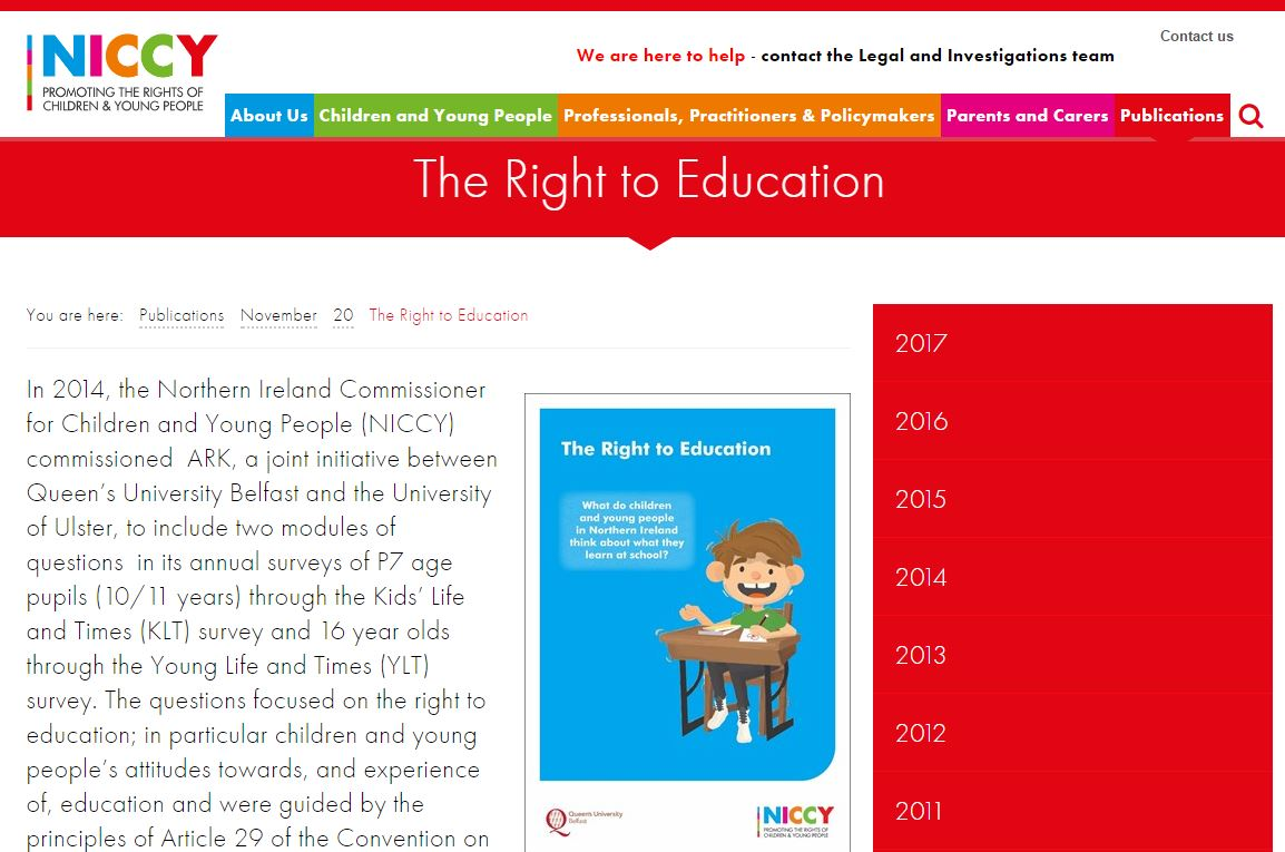 Image of The Right to Education
