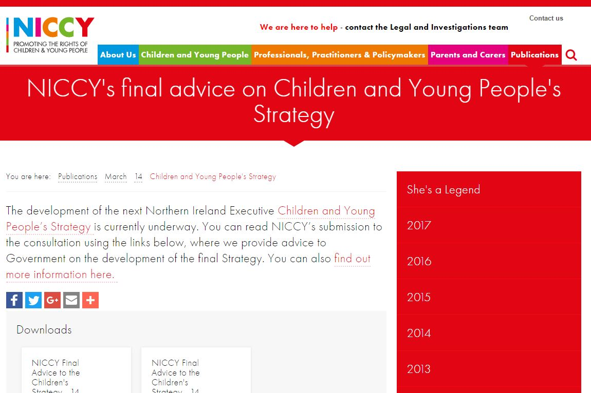 Image of Children and Young People's Strategy