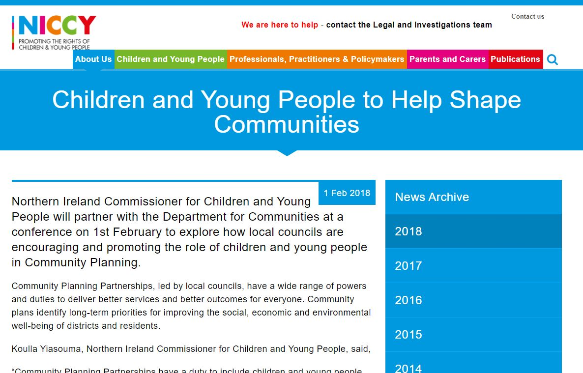 Image of Children and Young People to Help Shape Communities