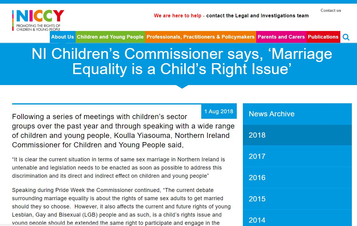 Image of 'Marriage Equality is a Child's Right Issue'