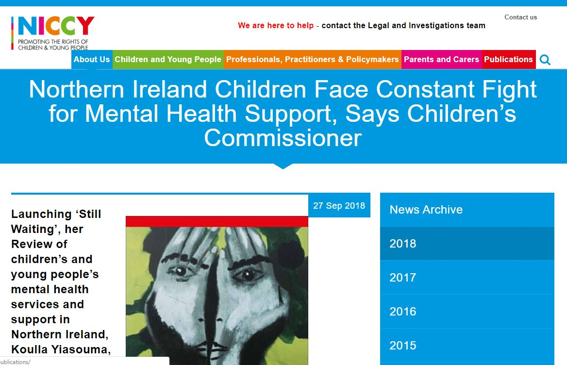 Image of Children Face Constant Fight for Mental Health Support, Says Children's Commissioner