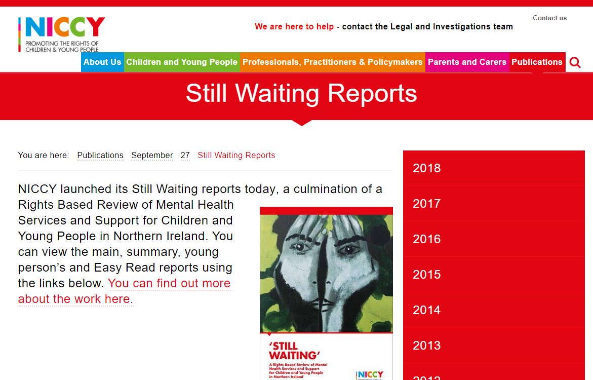 Image of Still Waiting Reports