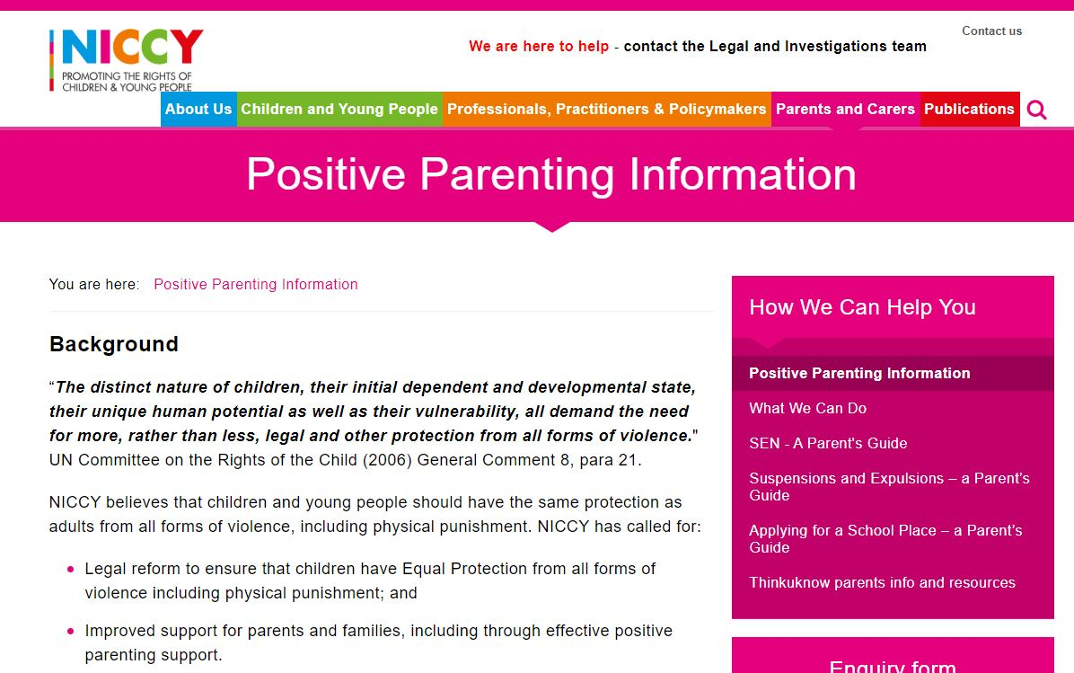 Photo for Positive Parenting Information