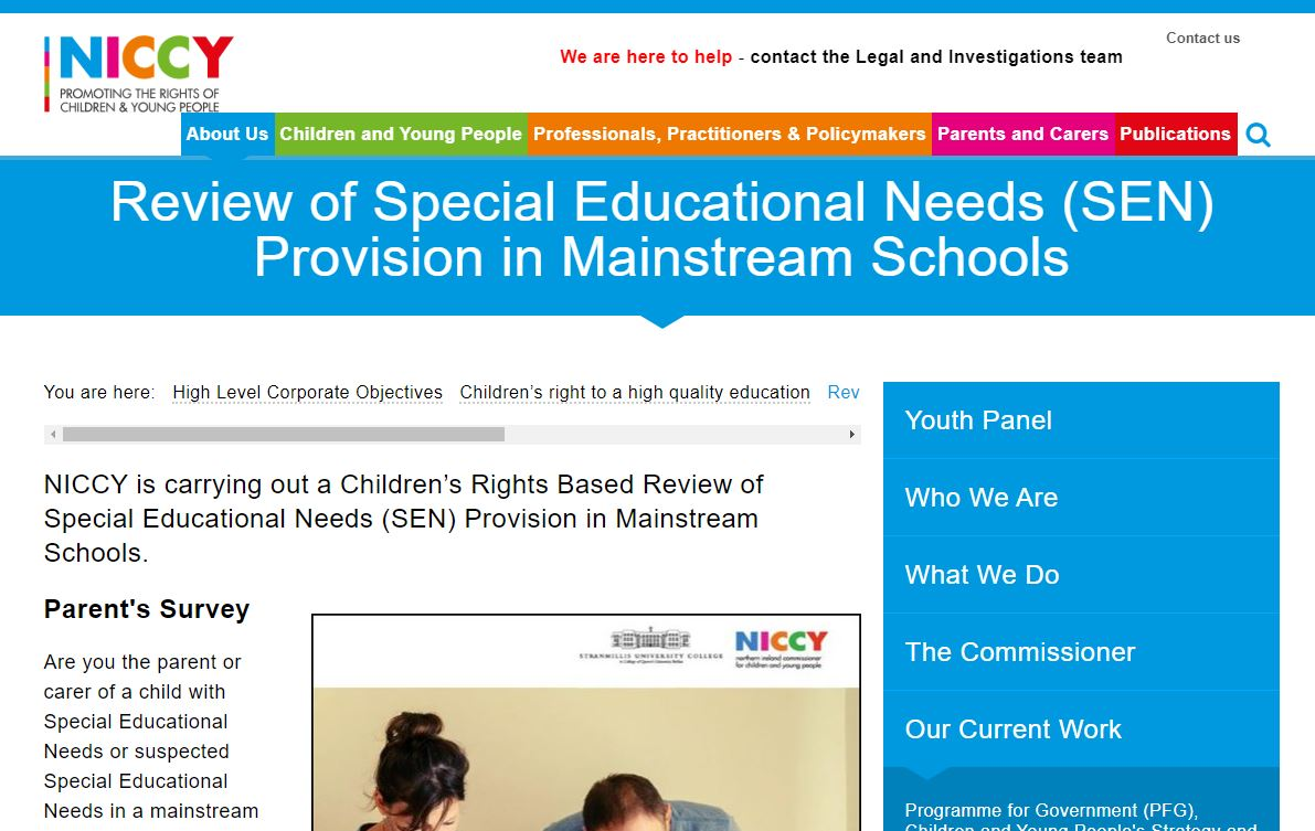 Photo for Review of Special Educational Needs (SEN) Provision in Mainstream Schools