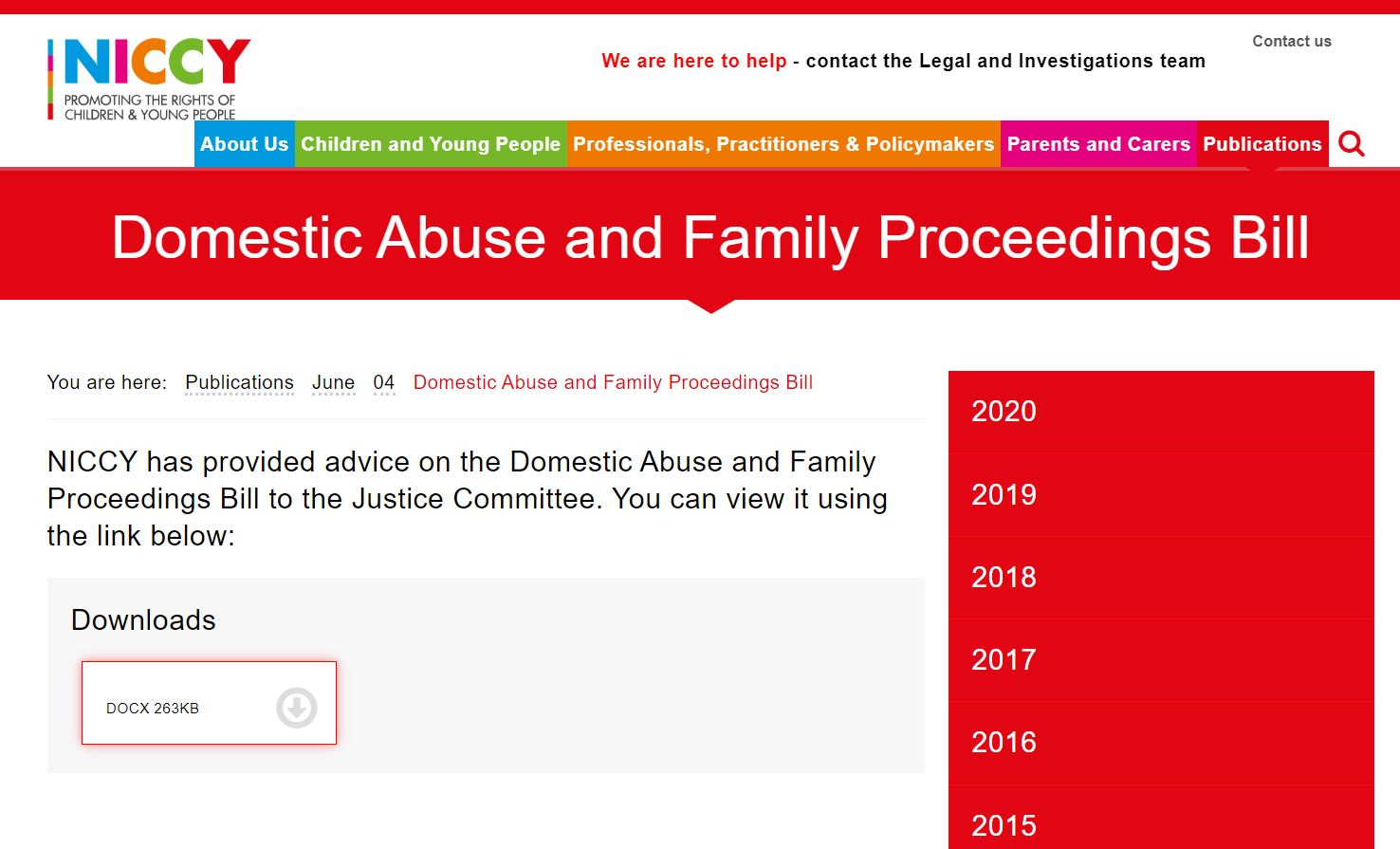 Image of Domestic Abuse and Family Proceedings Bill
