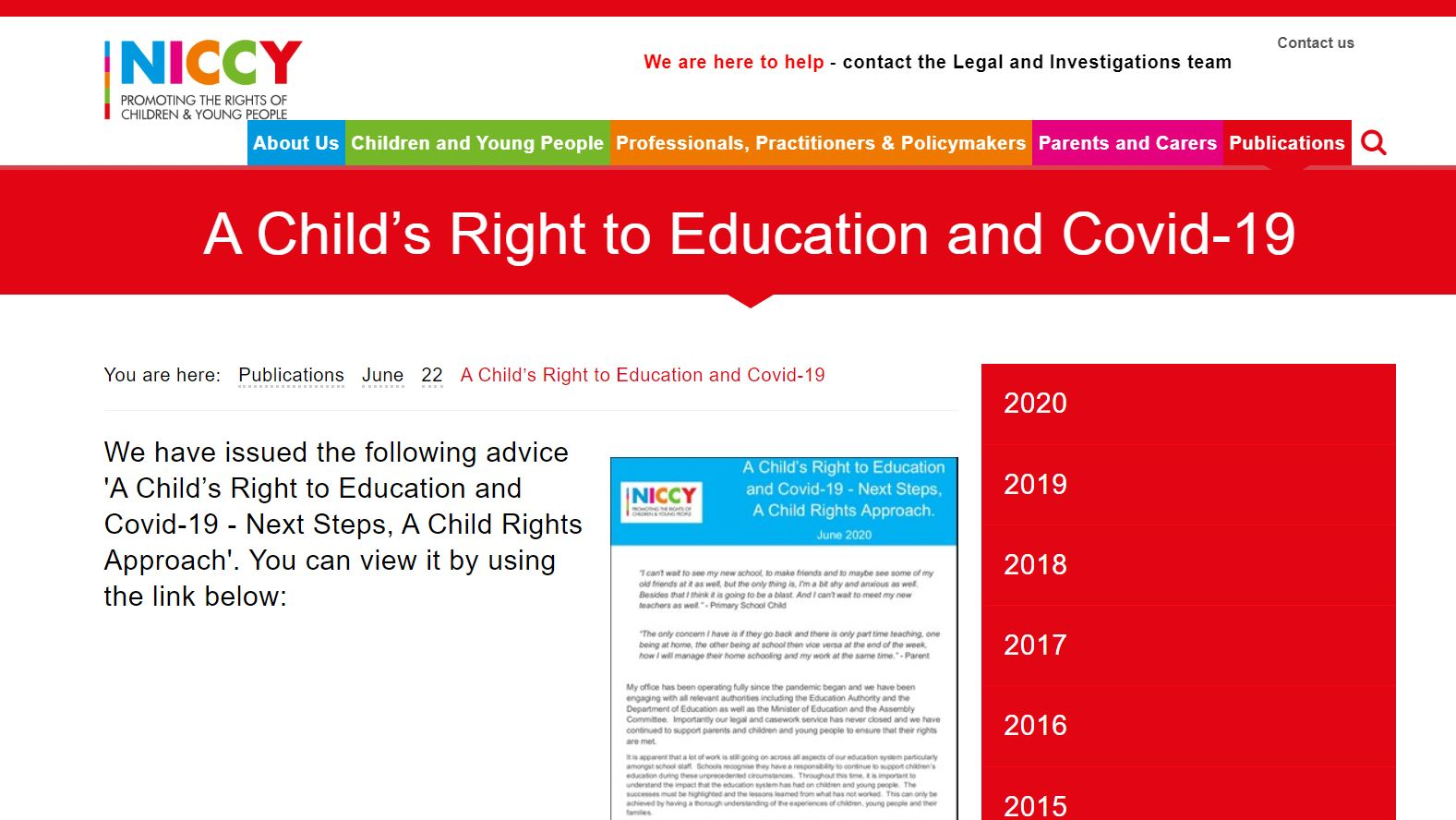 Image of A Child's Right to Education and Covid-19
